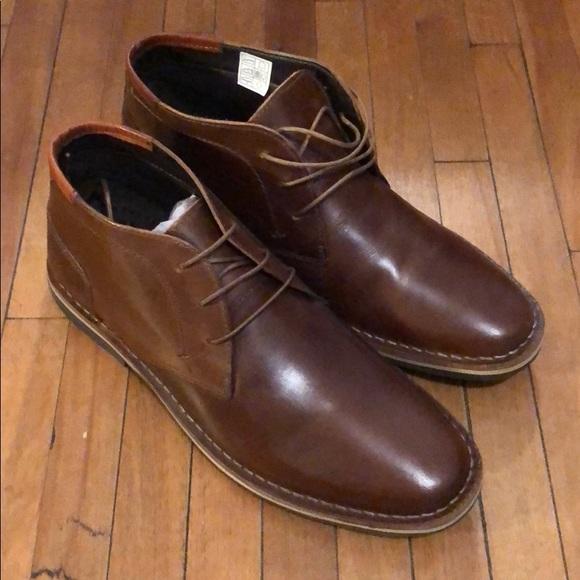 """729bda87b3d Men's Steve Madden """"Harken"""" Chukka Boots - Brown NWT"""